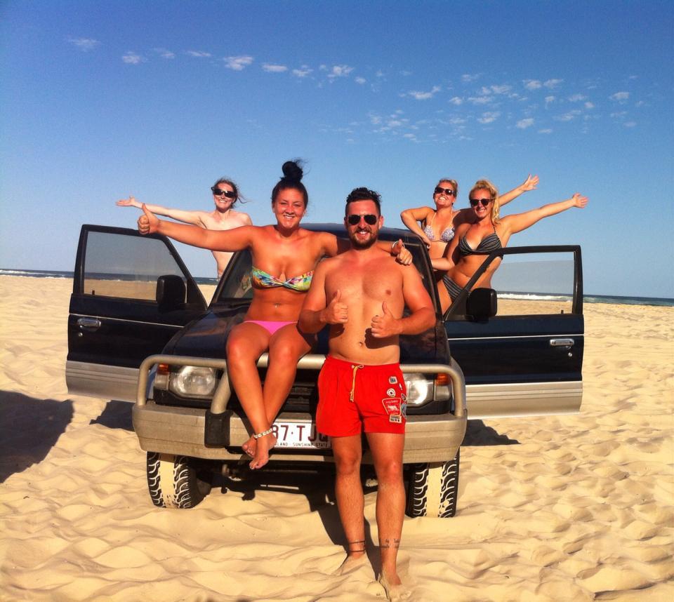 Promo Tour Fraser Island